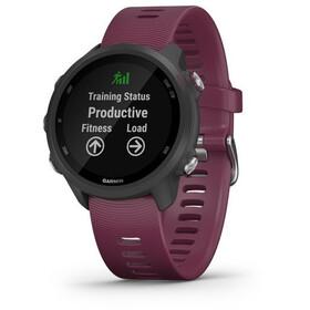 Garmin Forerunner 245 GPS Smartwatch black/merlot